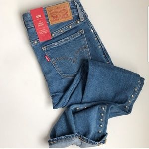 Levi's 711 Ankle Skinny mid rise Jeans